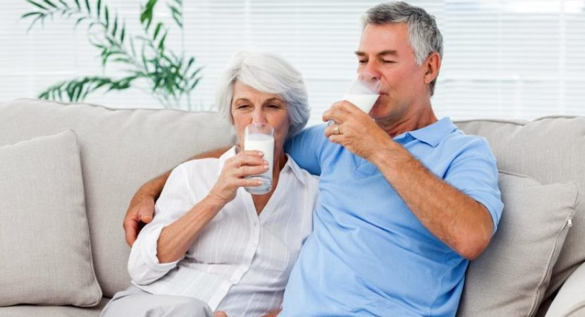 Drinking 1 rather than 2 milk accounts for 4.5 years of less aging in adults