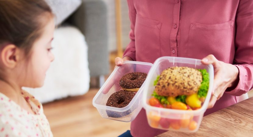 Letting your child pick their snack may help you eat better study suggests