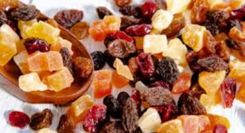 Eating dried fruit may be linked with better diet quality and health markers